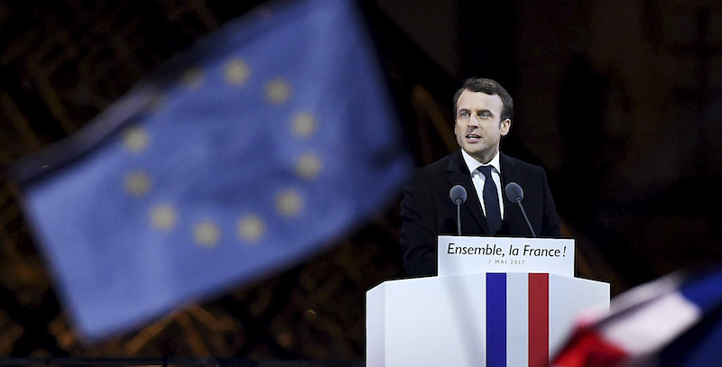 Emmanuel Macron, Presidente Francia 2017