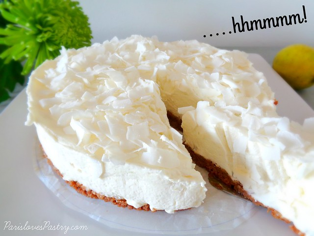 No-Bake Lime Cheesecake