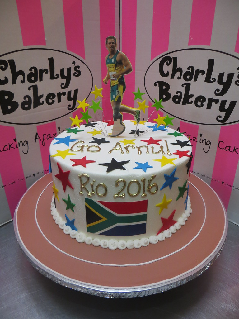 Olympics Birthday Cake For South African Olympian Athlete Flickr