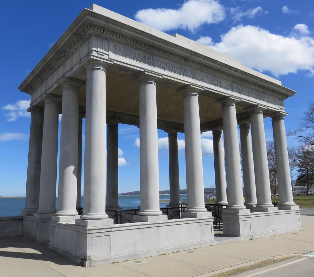 plymouth monument rock massachusetts
