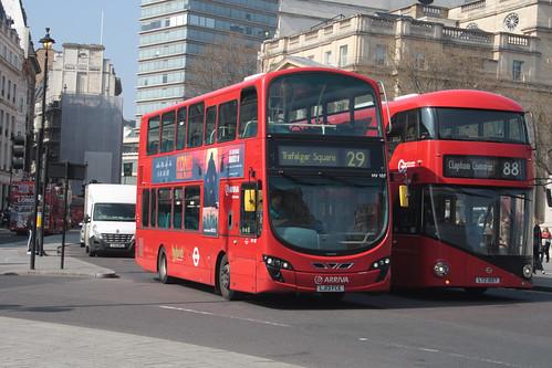 Arriva London HV107 LJ13FCE