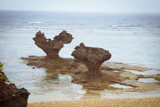 心型礁岩 | 沖繩 古宇利島