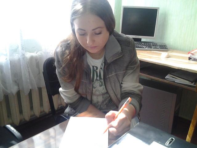 Індивідуальна бесіда з ученицею 11 ОКН Снігур Лілією