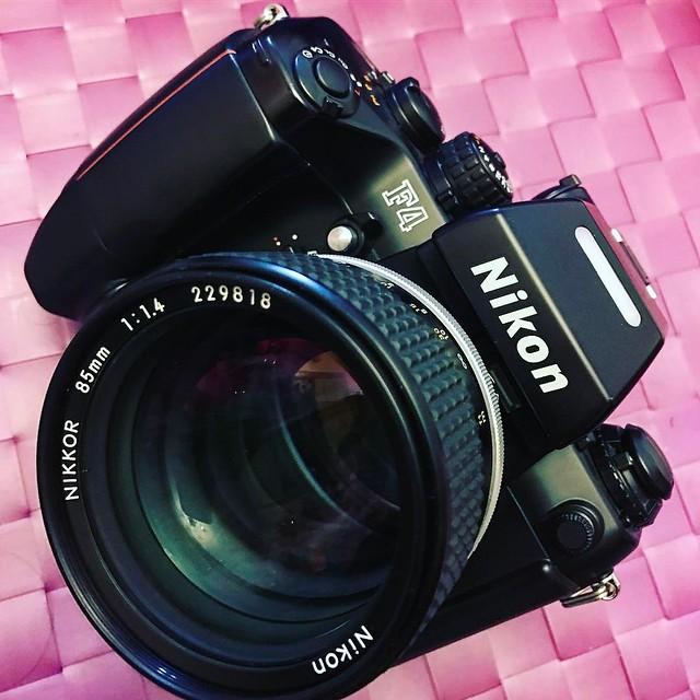 Nikon ais 85mm f1.4 經典人像皇者