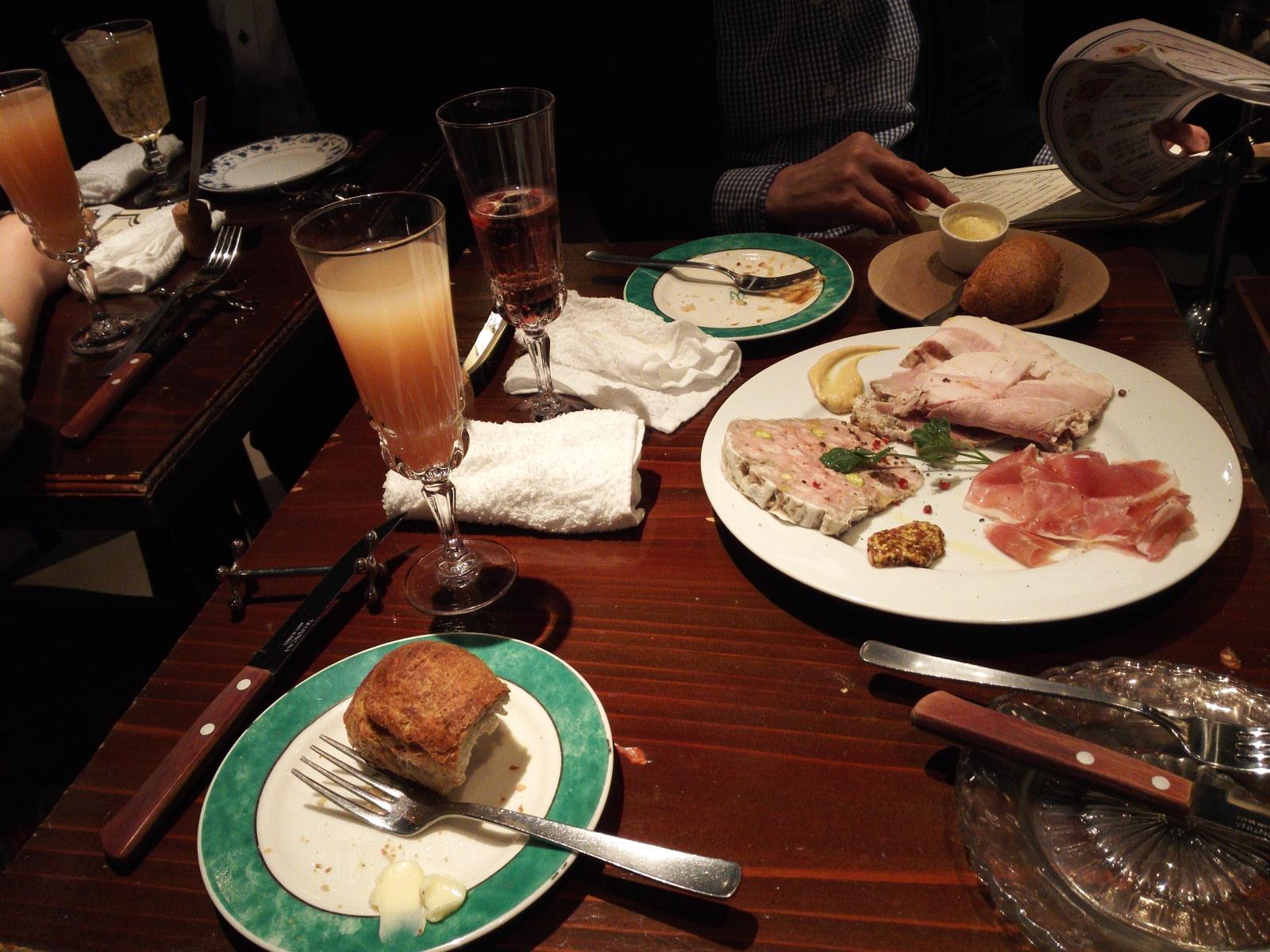 お肉の盛り合わせ3種1780円