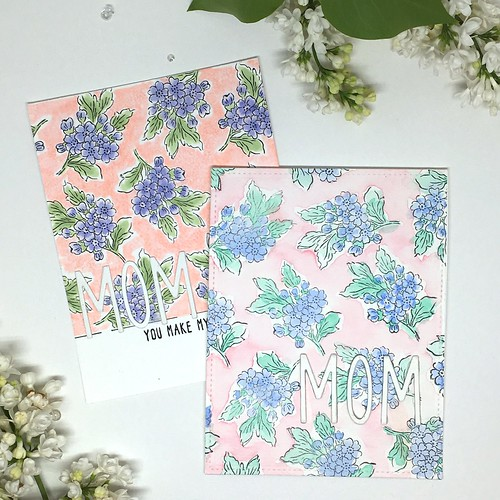 Two Mother's Day cards