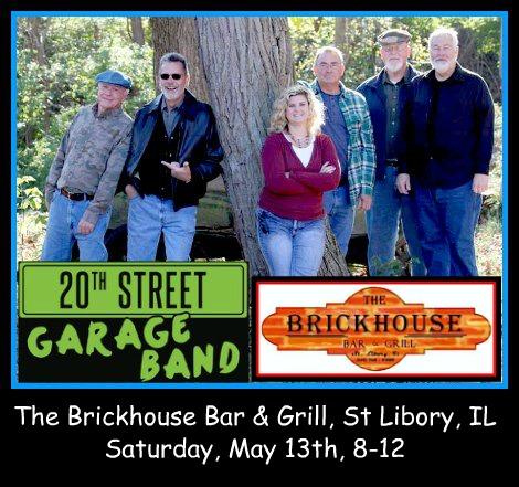 20th Street Garage Band 5-13-17