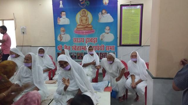 2017.04.28 Sadhvi Kunthu Shree Sadhvi Piyush Prabha at South Howrah 32