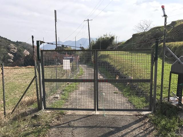 野登山 表参道 獣害防止ゲート