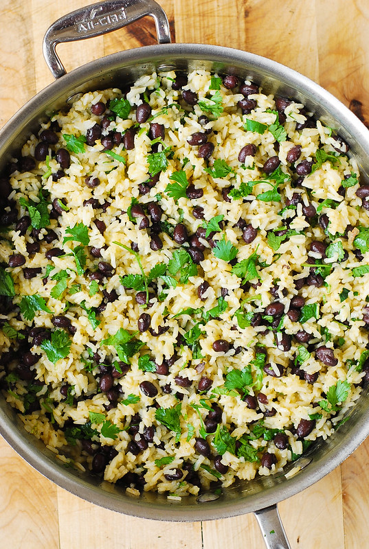 healthy rice recipe, rice side dish, gluten free rice, spring recipes, summer recipes