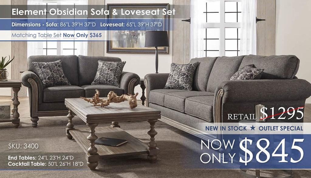 Element-Obsidian Sofa & Loveseat Set_3400_noInsert