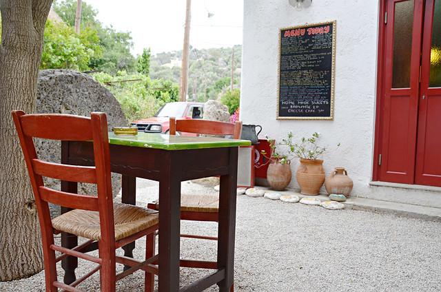 Kafeneio sto Scholeio, Anidri Gorge route, Paleochora, Crete