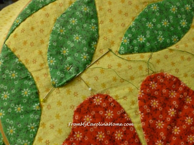 Applique Quilt Repair @ From My Carolina Home