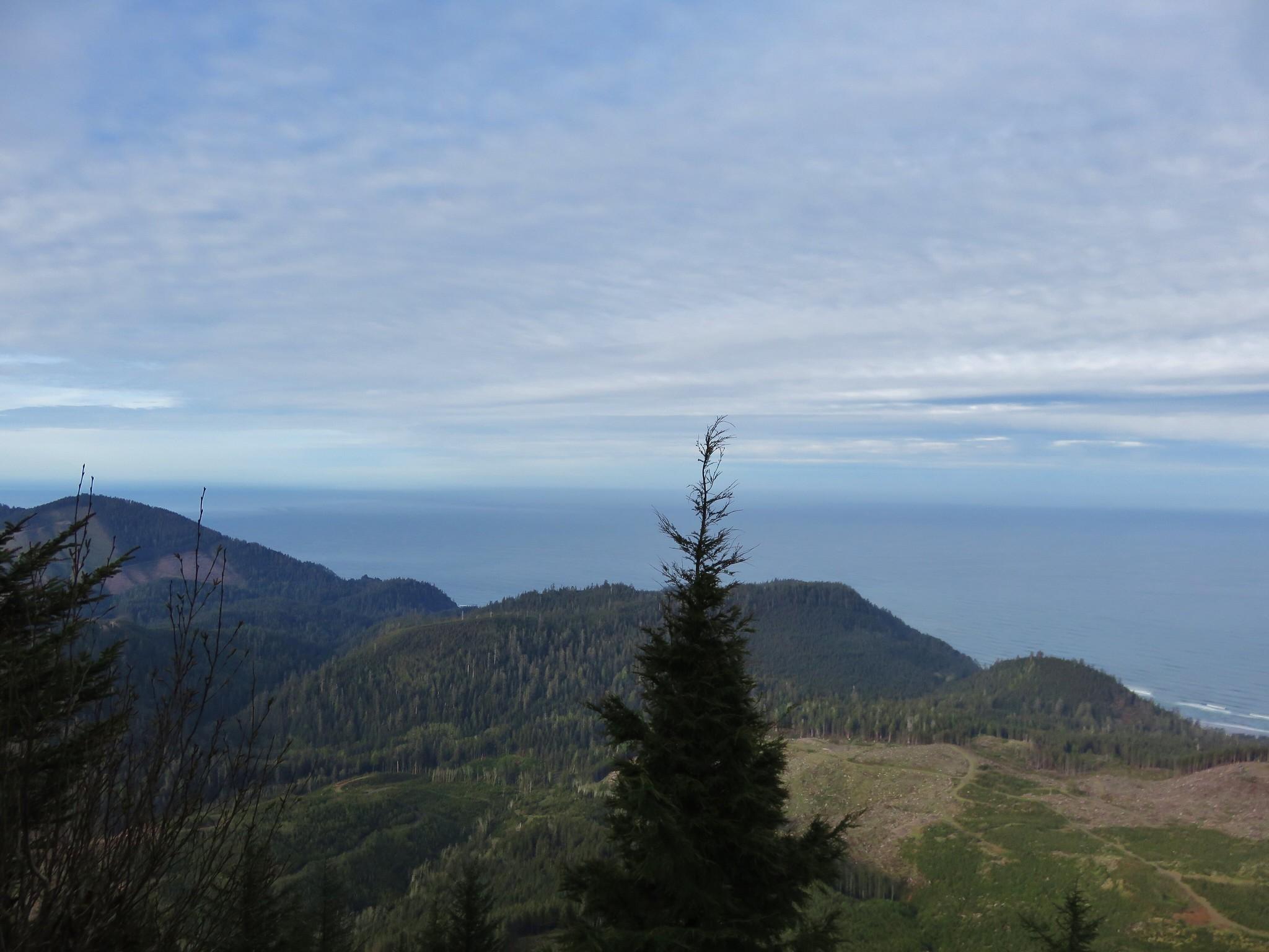 Neahkahnie Mountain and Cape Falcon