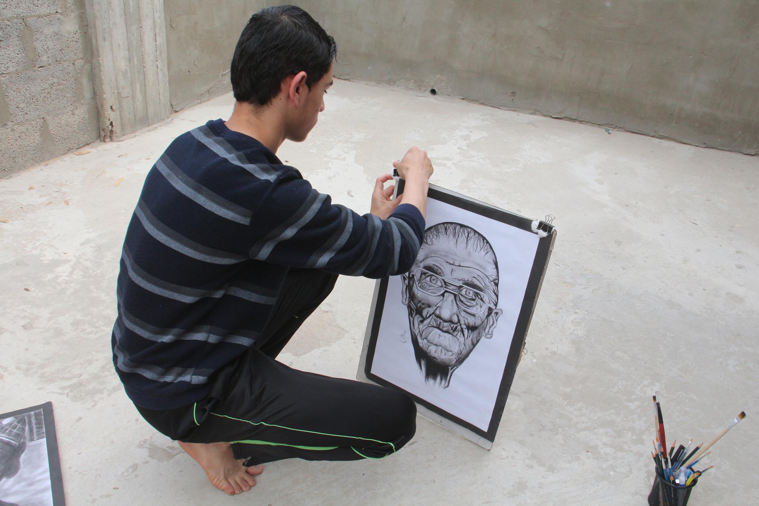 عمر رضوان غزة  (9)