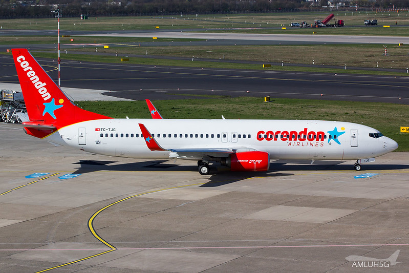 Corendon Airlines - B738 - TC-TJG (1)