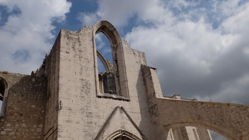 Convento do Carmo tras el terremoto