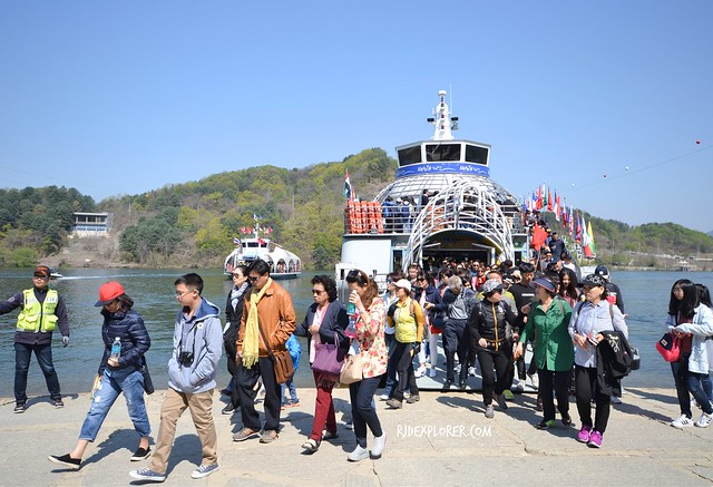 nami island ferry ride