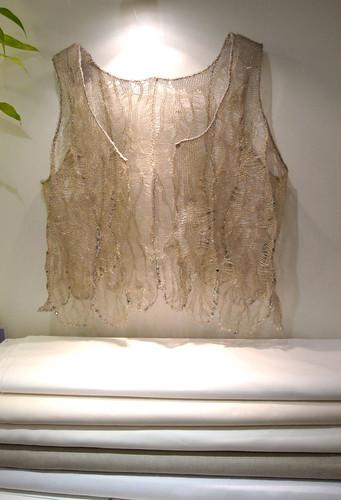 La Boutique Extraordinaire - Biotissus - Satins de coton, voile de coton, lin écru ou naturel