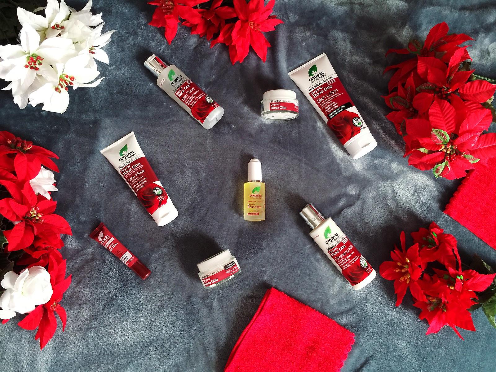 dr. organic rose otto oil skincare
