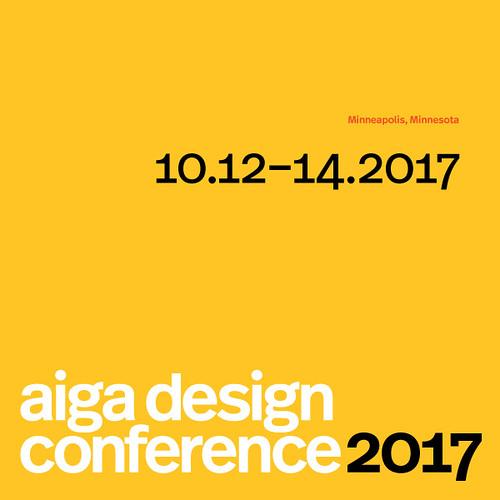 AIGA Design Conference 2017