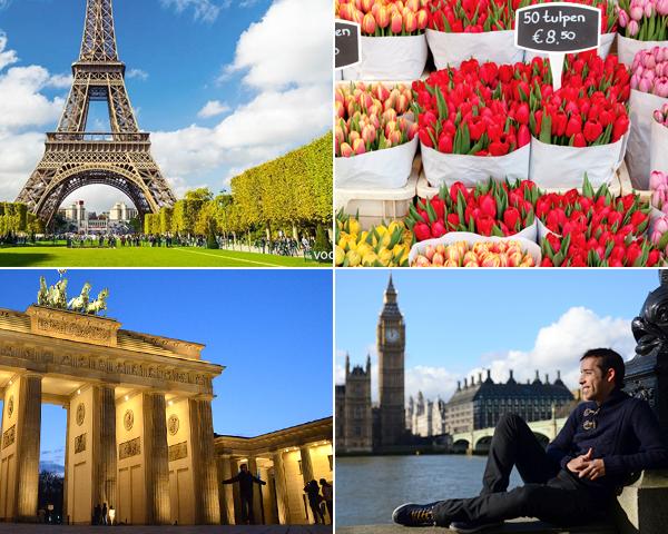 La mejor ruta por Europa y sus capitales principales