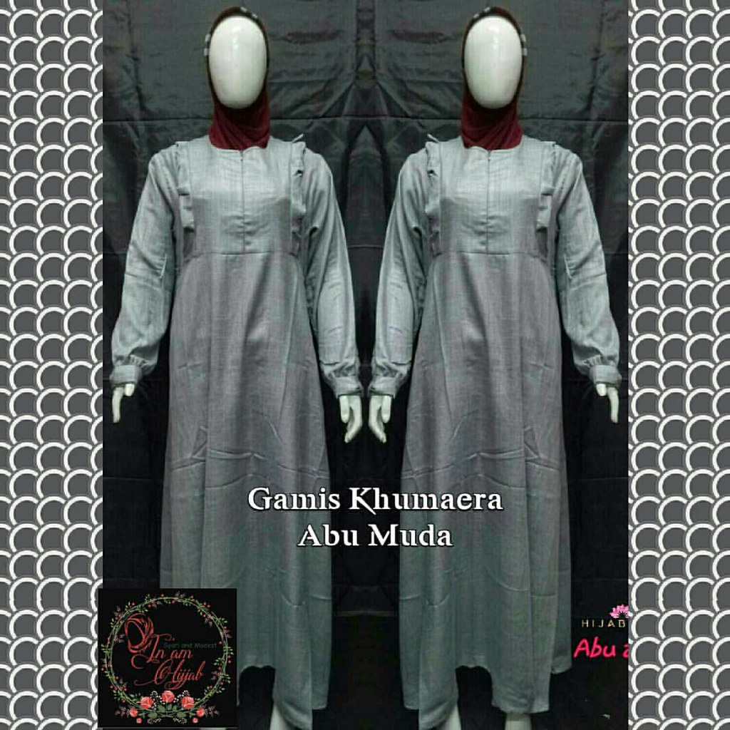Khumaera Dress Harga Rp 245 000 Bahan Linen Deluxe Size C Flickr