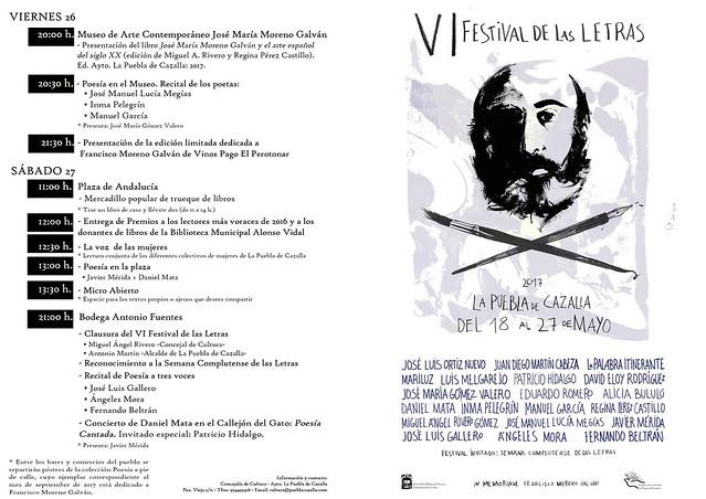 AionSur 33850048984_c383342513_z_d La VI edición del Festival de Las Letras de La Puebla reivindica recuperar la cultura de la palabra La Puebla de Cazalla Provincia