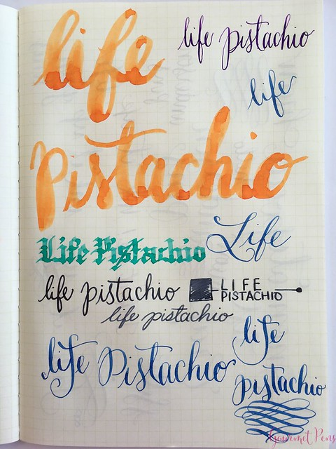 Review @LIFEStationery Pistachio A5 Notebook @AndersonPens 11