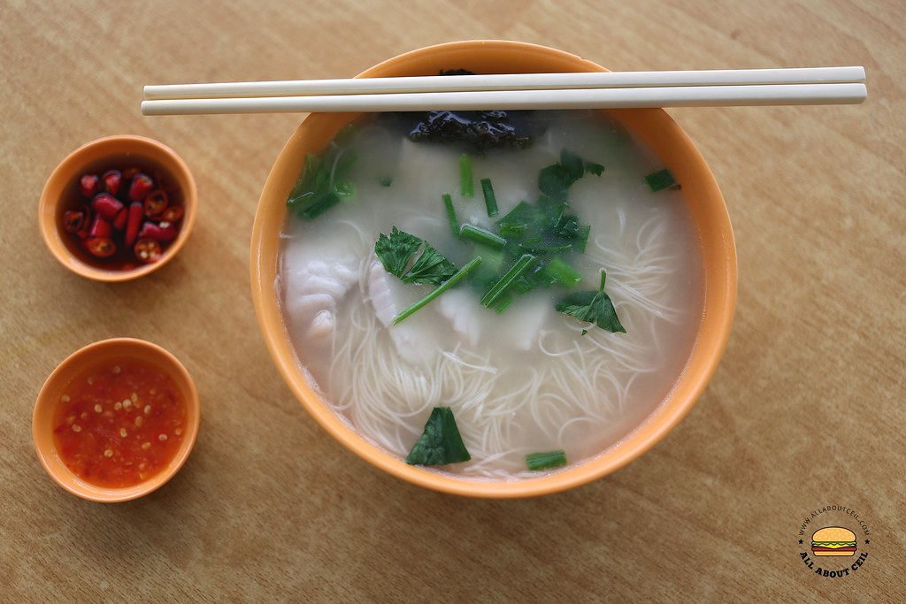 All About Ceil No Name Fish Soup Comforting Sliced Fish Mee Sua