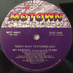 TEDDY RILEY featuring GUY:MY FANTASY(LABEL SIDE-A)