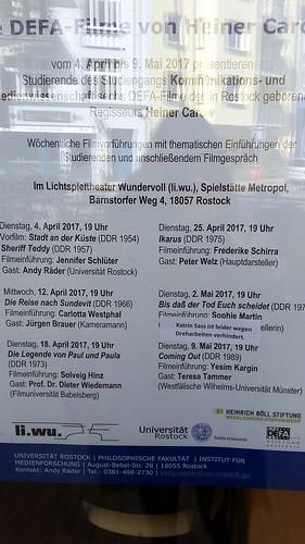 Rostock Filme Heiner Carow