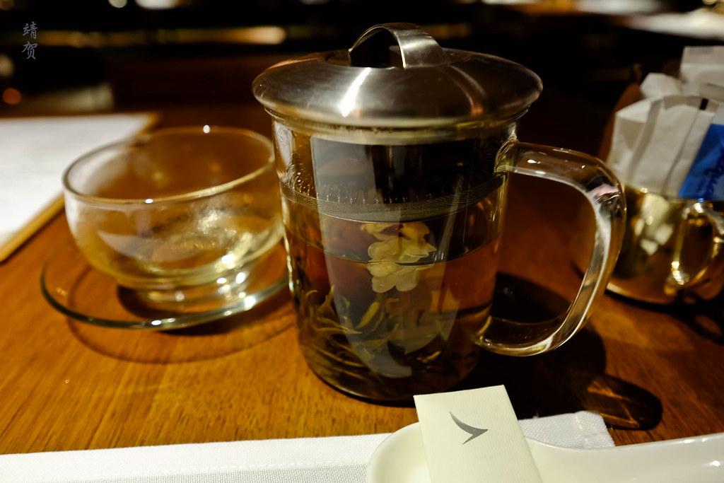 Jasmine and lily tea