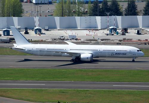 Boeing 787-10 Dreamliner Boeing Company N548ZC LN548
