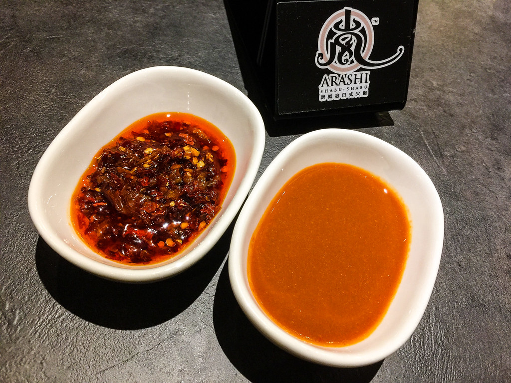 Crispy Prawn Chili Sauce and Chili Sauce for my Shabu-Shabu.