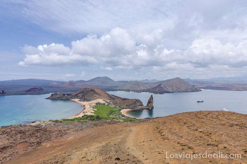 Isla Bartolomé viajar a Galápagos por tu cuenta