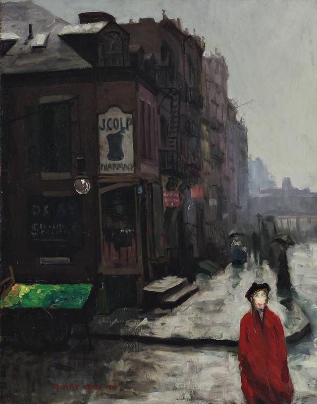 Stuart Davis - Bleecker Street (1913)