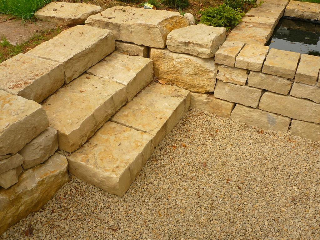 gartentreppe aus kalkstein   jörg kaspari   flickr