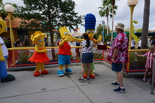 Universal Studios, Florida: Tracey and Scott Meet the Simpsons | by Disney, Indiana