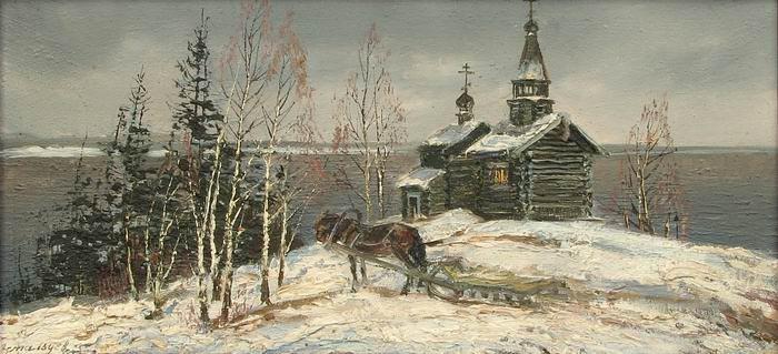 维克多·阿斯塔利采夫画作选05