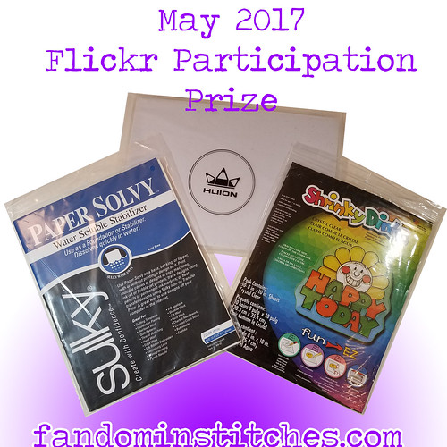 May 2017 fandominstitches.com prize