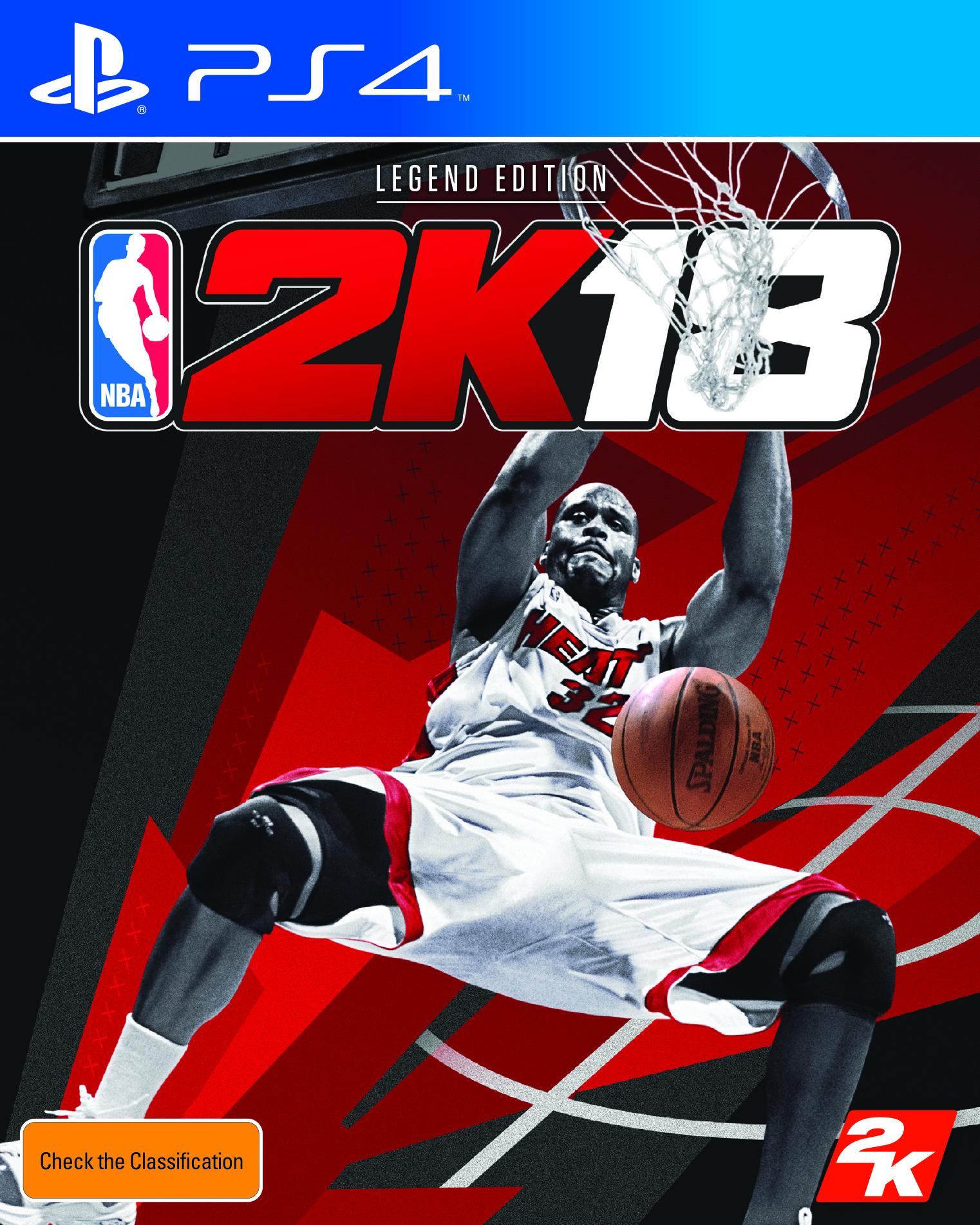 NBA 2K18 PS4 FOB AUS- PRINT
