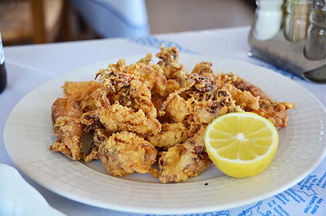 Calamari, Falassarna, Crete