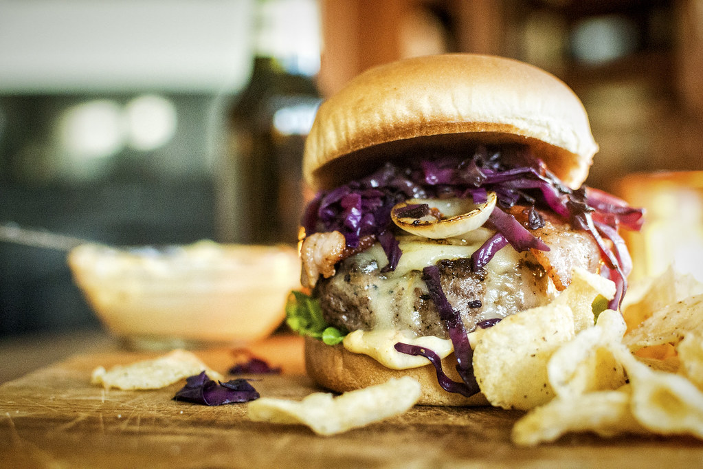 The Irish Brat Burger Recipe   Girlcarnivore