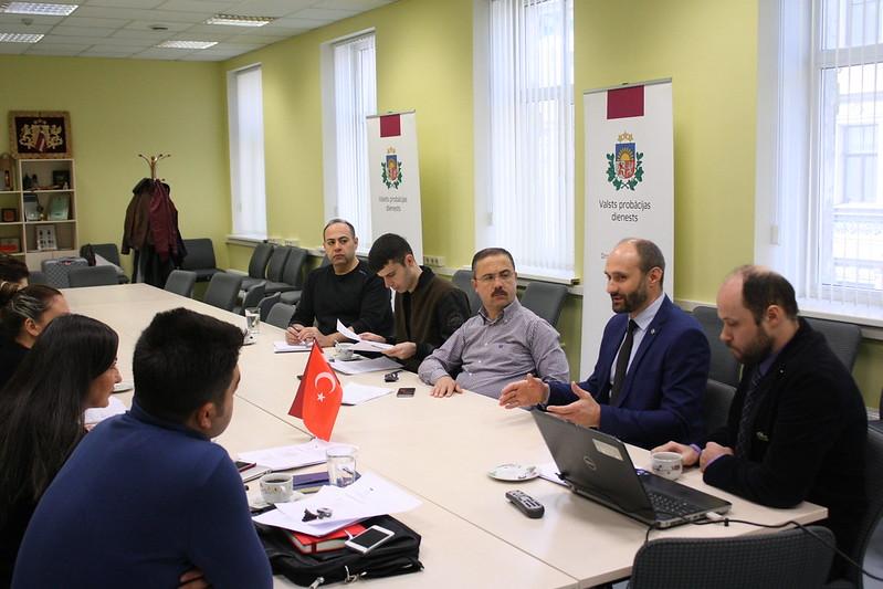 Turcijas probācijas speciālistu vizīte Latvijā