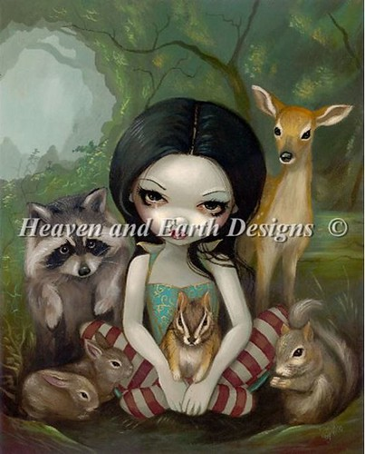 Snow White And Her Animal Friends_000a