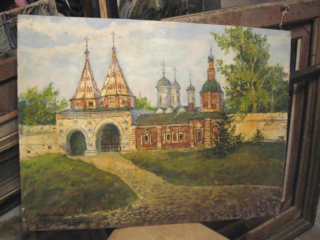 维克多·阿斯塔利采夫画作选15