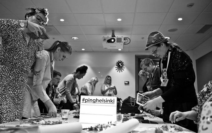 ping helsinki diy workshop flat lay bloggaaja