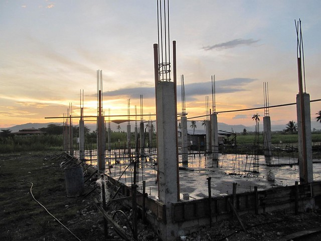 19 - April 25 2017 Pouring of concrete slab