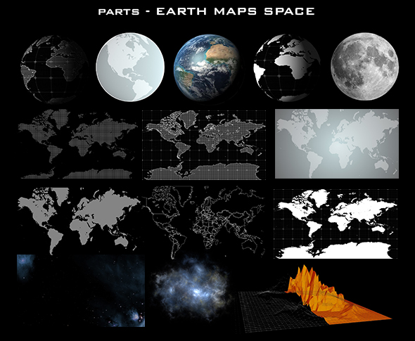 4EARTH MAPS SPACE